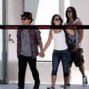 Bruno Mars,Jessica Caban and friend Ryan Keomaka