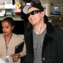 Jeremy Renner seen at LAX
