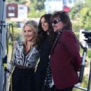 Richie Sambora & Nikki Lund Get Interviewed By Terri Seymour on March 24, 2014 in Los Angeles, CA - 454 x 345