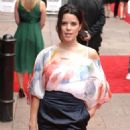 Neve Campbell - UK Premiere Of 'Inglourious Basterds' Held At The Odeon Leicester Square On July 23, 2009 In London, England