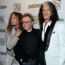 Steven Tyler & Joe Perry attend the ASCAP Press Conference at Sunset Marquis Hotel and Villas on April 8, 2013 in West Hollywood, CA - 454 x 367