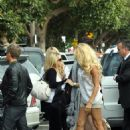 Pamela Anderson Heads To Dancing Rehearsals 06-27-2010