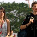 Marion Jollès and Romain Grosjean - 454 x 303