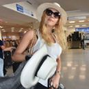 Katheryn Winnick at LMM airport in San Juan