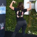 Francia Raisa – WWE 20th Anniversary Celebration in Los Angeles - 454 x 596