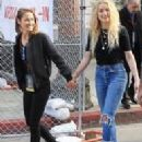 Bianca Butti and Amber Heard
