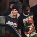 Kylie Jenner and Travis Scott (rapper)