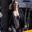 Heidi Klum spotted on the set of 'Ocean's Eight' in Los Angeles, California on March 6, 2017 - 415 x 600