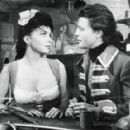 Gina Lollobrigida and Gérard Philipe
