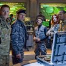 (Left to right) Some of the members of the elite G.I. JOE team include team leader, DUKE (Channing Tatum), team commander GENERAL HAWK (Dennis Quaid), BREAKER (Saïd Taghmaoui), a specialist in deciphering covert electronics and technology, SCARLETT (Rache