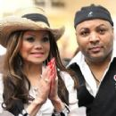 LaToya Jackson and Jeffre Phillips