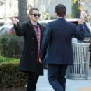 Hayden Christensen meets some friends for lunch in Beverly Hills, California on January 8, 2015 - 454 x 585
