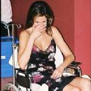 Luciana Gimenez arriving in hospital - 2001