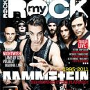 Till Lindemann, Richard Kruspe, Paul Landers, Oliver Riedel, Christoph Schneider, Flake Lorenz - My Rock Magazine Cover [France] (December 2011)