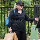 Rebel Wilson – Workout in a Sydney park - 454 x 636