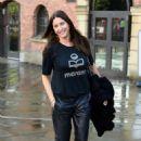 Lisa Snowdon – Leaving Hits Radio Station in Manchester - 454 x 669