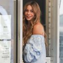 Sofia Vergara in Summer Dress – Out in Los Angeles