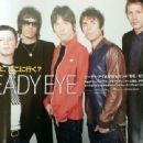 Liam Gallagher, Chris Sharrock, Jay Mehler, Andy Bell, Gem Archer - rockin´ on Magazine Pictorial [Japan] (May 2013) - 454 x 340
