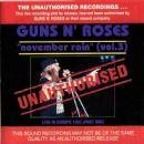 November Rain (Vol. 3)