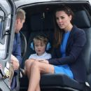 The Duke & Duchess of Cambridge Visit the Royal International Air Tattoo - 435 x 600