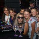 Paris Hilton takes the DJ Booth at Cyprus Deluxe Hotel
