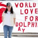 "Actress Shannen Doherty attends Shepherd Conservation Society's 2nd Annual ""World Love For Dolphins Day"" at Japanese Consulate on February 13, 2015 in Los Angeles, California"