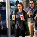 Jessica Alba: Grabs Her Coffee