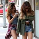 Vanessa and Stella Hudgens out in West Hollywood (September 11)