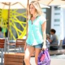 Ashley Tisdale: to the gym in West Hollywood