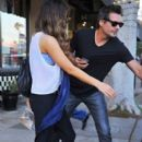Kate Beckinsale stops by a nail salon for a mani/pedi in Santa Monica, California on January 31, 2015 - 399 x 600