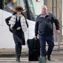 Rachel Weisz Arriving At Heathrow Airport In London