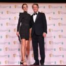 Hugh Grant and Anna Elisabet Eberstein - The EE British Academy Film Awards 2021 - Arrivals