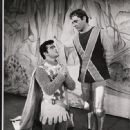 Camelot (musical) Robert Goulet and Richard Burton - 448 x 550