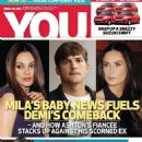 Mila Kunis, Ashton Kutcher, Demi Moore - You Magazine Cover [South Africa] (17 April 2014)