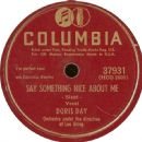 Doris Day - Papa, Won't You Dance With Me? / Say Something Nice About Me
