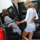 Taylor Swift Leaving The Gym In Shorts