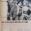 Brigitte Bardot - Cinemonde Magazine Pictorial [France] (2 October 1958) - 454 x 605