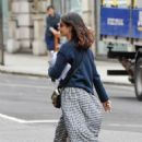 Jenna Coleman – Out and about in London