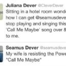 Seamus Dever and Juliana Dever