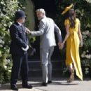 George Clooney and Amal Alamuddin :  Prince Harry Marries Ms. Meghan Markle - Windsor Castle
