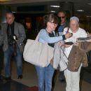 Sally Field arriving at LAX Airport - 450 x 600
