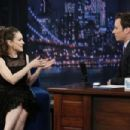 Winona Ryder At The Late Night with Jimmy Fallon (April 2013) - 454 x 303