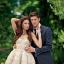 Robert Lewandowski and Anna Stachurska