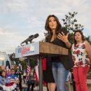 Eva Longoria At Leticia Van De Putte For Lieutenant Governor In San Antonio