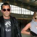 Jennifer Aniston and Justin Theroux catch a flight at Heathrow Airport