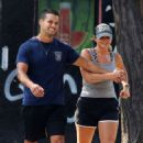 Miranda Lambert in Shorts – Out for a stroll in NYC - 454 x 733