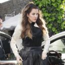 Khloe Kardashian: leaving the One The Thirty restaurant in Sherman Oaks