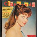 Tina Louise - Cinemonde Magazine Cover [France] (7 June 1960)