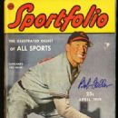Bob Feller - Sportfolio Magazine Cover [United States] (April 1948)