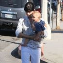 Selma Blair: out with a friend in Studio City